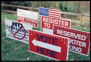 Polling Place Signs - PatriotSigns.com