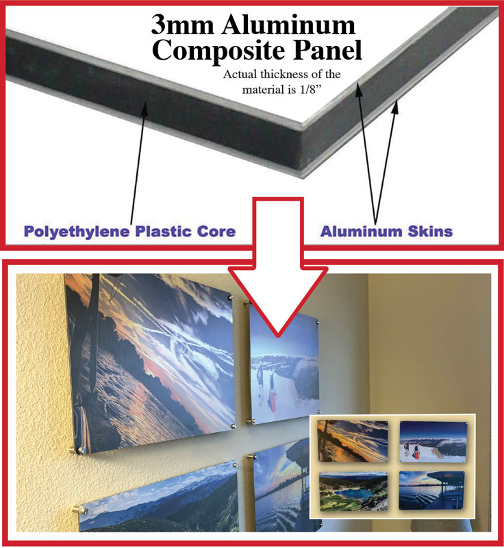 3mm Aluminum Composite Panel Signs - Patriot Signage