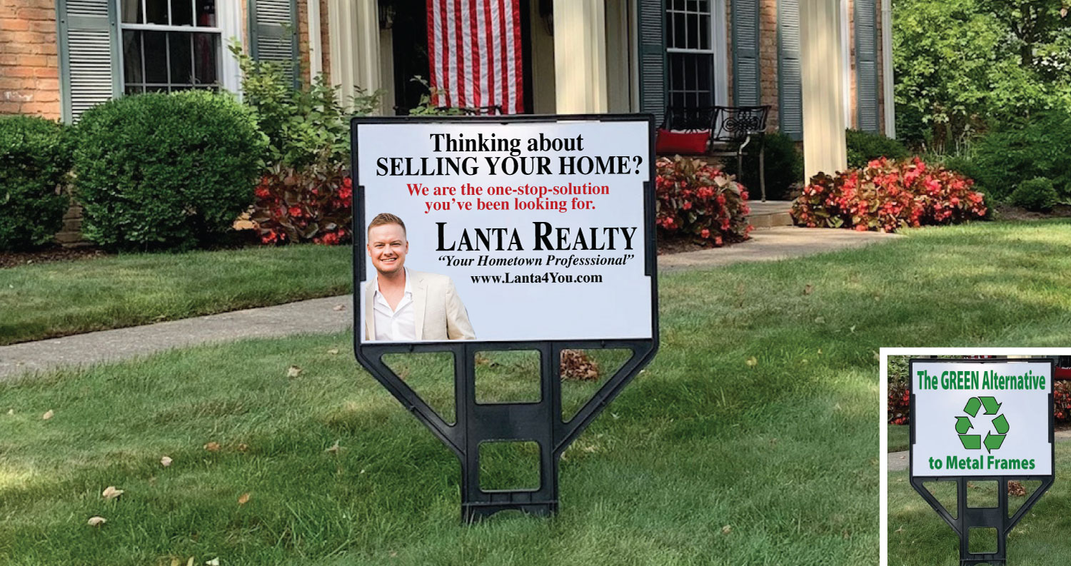Patriot Signs - Lightweight Real Estate Signs